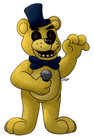 Golden Freddy by GralMaka