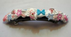 Decora style hair barrette by bad-ass