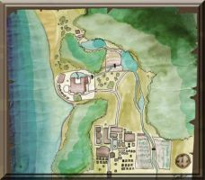 Town Map by iluverocklee