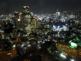 STOCK TOKYO NIGHT VIEW JAPAN NO:010060028 by hirolus