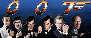 Evolution of Bond...James Bond by DevonneAmos