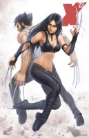 X-23 - Classic (1 of 4) by SamDelaTorre