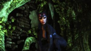 Batman Arkham City - Catwoman II by Gelvuun