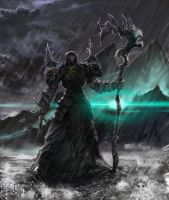 The Dark Mage by TheOrckid