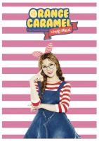 Lizzy - Orange Caramel - Tablet/Phone Wallpaper by wiarae