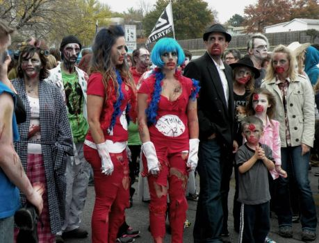 4th Annual Des Moines Zombie Walk by EnthusiasmShared