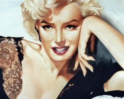 Marilyn Monroe by antonio56