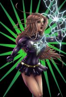 Dark Mary Marvel by x138x