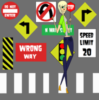 Crossing guard sorta by velmashivestone1