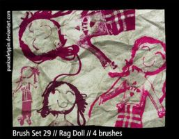 Brush Set 29 - Rag Doll by punksafetypin