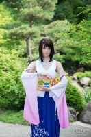 Yuna (Final Fantasy X) by Shinigami-X