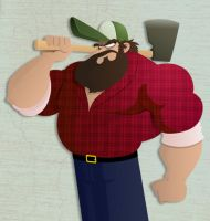 Experiment - Lumberjack by Ian-Summers