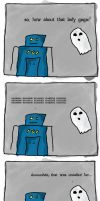 adventures of 2.0 and ghost by SaintSazzle