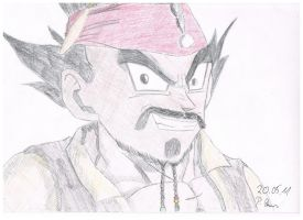 Captain Vegeta Sparrow by Vegetto90