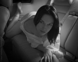 Car Nudes - Back Seat Nudes No 5 by BrianMPhotography