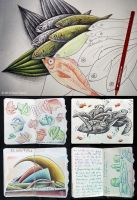 Quick Live Sketches (#Onthedraw Project) by BenHeine