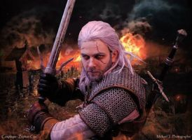 Geralt de riv cosplay by Zephon-cos