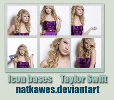 Icon bases - Taylor Swift 2 by Natkawes