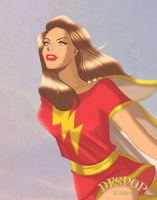 Mary Marvel by DESPOP