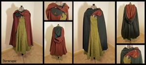 Thyme's Twist Cloak by Durnesque