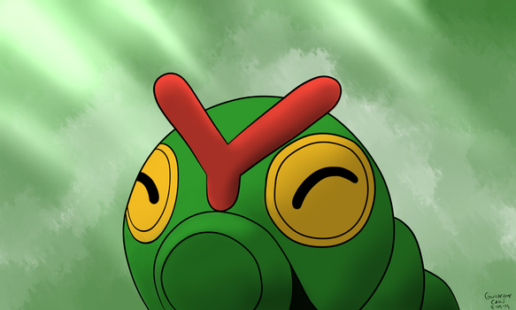 Caterpie by guilhermecahu