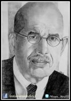 Dr. Mohamed ElBaradei by mariamsherif