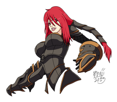 Ironscale Shyvana by BenjaminCookie