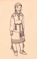 Fashion - 1760's Iroquois by MauserGirl