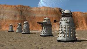 Daleks on a Desert Moon by Jim197