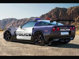 2013 Chevrolet Corvette  C6  Z06 Police Car DkdS by DKDS