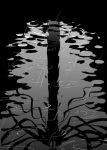 Slenderman reflection by Clockwork7