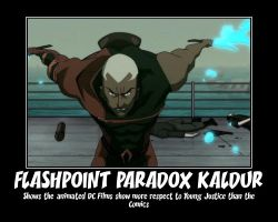 Aqualad Flashpoint Paradox Motivational by Shadow-DJ