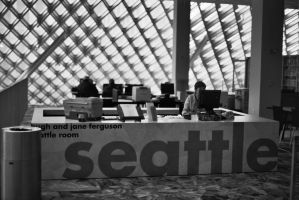 Seattle Public Library by TheHungerArtist
