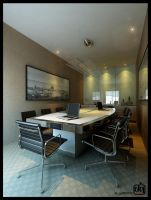 Simple Meeting Room by deguff