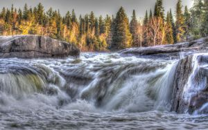 Pabineau Falls in HDR by PascalsPhotography