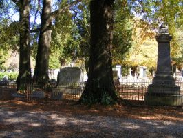 Autumn Cemetery 16 by DKD-Stock