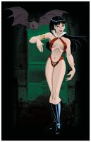Vampirella: My Halloween Treat by AndrewJHarmon