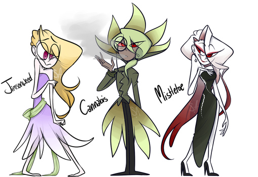 New OCs: Botany Mafia by StarStainStuff