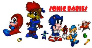 Sonic Babies by ACE-Spark
