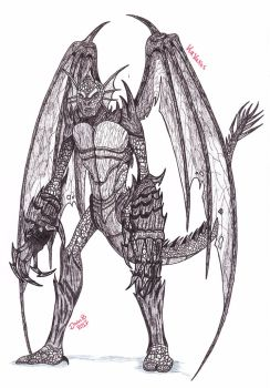 Kavaxas : Lord of the Demodragons by XenoTeeth3