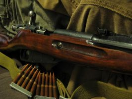 Russian Mosin Nagant M-44 by rcbif