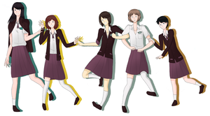 TMM:FB School Uniforms by TabberHatter
