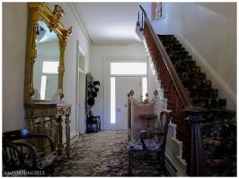 Bowers Mansion Entry Way by sintar