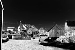 Peggys Cove by kensdigital