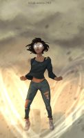 Modern Korra Avatar State by Blue-Wave-789