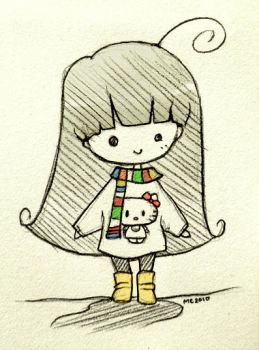 Day 287: Me, today. by shortpinay