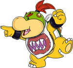 Bowser Jr. - Art v.3 by Tails19950