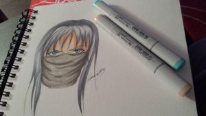 Copic Head by shaina773