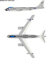 Boeing B-47 Stratojet by bagera3005
