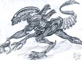 Xeno 2 by CroctopusArt
